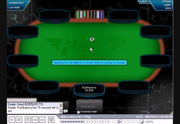 MTT $11, Rush Poker, часть III