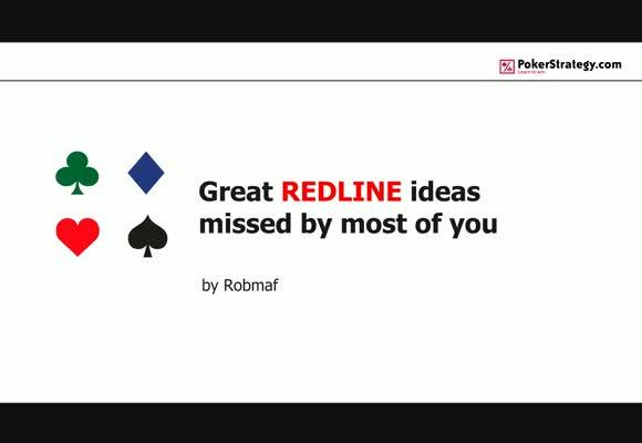 Идеи по красной линии, упускаемые из виду большинством игроков