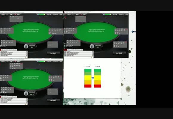 Живая сессия NL $200 Zoom SH с Samy89 - Сила руки относительно спектра, часть 1