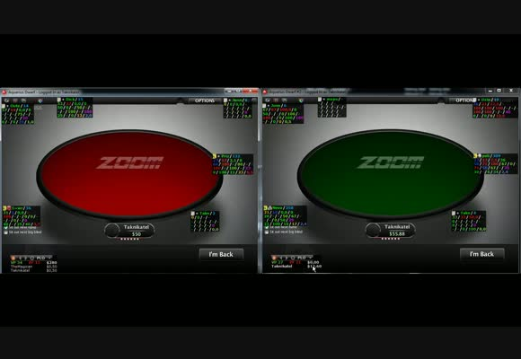 Учимся бить PLO $50 Zoom SH, живая сессия на PokerStars