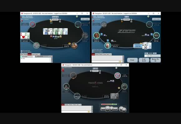 Разбор сессии NL $100 Zoom SH с theThrone3000 - Плохо разыгранные ситуации, часть 3