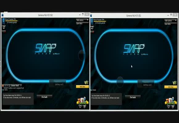 Живая сессия NL $200 Snap на 888poker