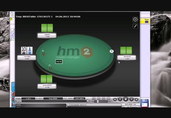 Перевод SNG, Игра со стэком 15-20 блайндов - Финальный анализ рук