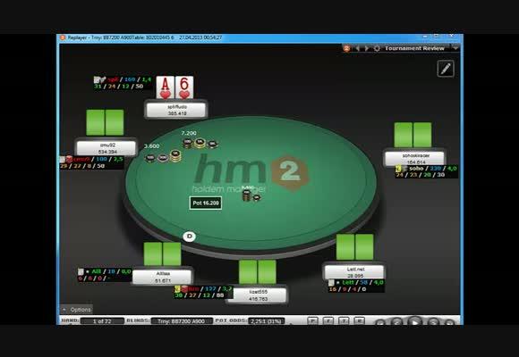 MTT $109 FR, предфиналка, часть 5