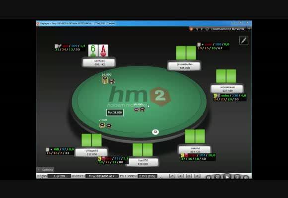 MTT $109 FR, финальный стол, часть 6
