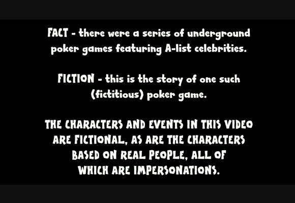 Игра у Молли - покерный мультфильм