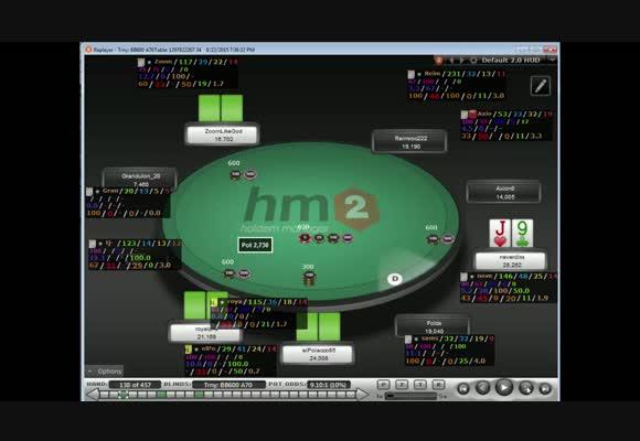 MTT The Big $33 с neverdixs, часть 2