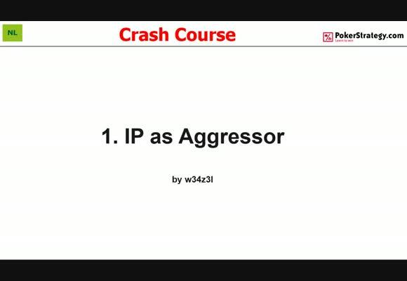 Крэш-курс от w34z3l - Игра как агрессор в позиции, часть 1