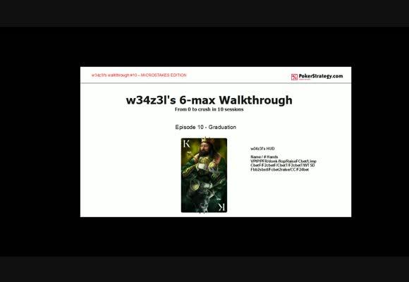 Прохождение 6-max, Живая сессия NL $10 Zoom SH, часть 10