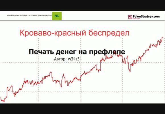 Кроваво-красный беспредел - Печатаем деньги на префлопе, часть 2