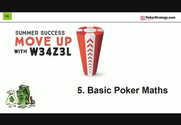 Поднимаемся на следующий лимит с w34z3l - Базовая покерная математика, часть 5