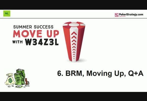 Поднимаемся на следующий лимит с w34z3l - Банкролл-менеджмент, вопросы и ответы, часть 6