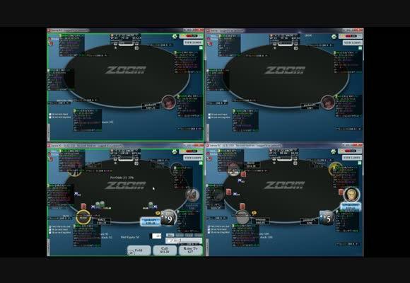 Сессия на 4 столах NL $200 Zoom SH с yac