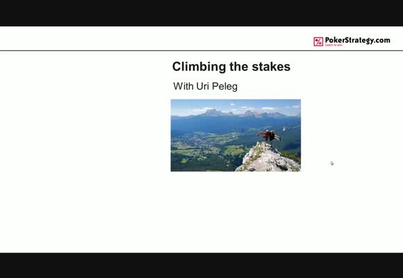 Climbing the Stakes - The Top of The Mountain