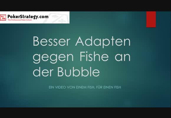 Videocontest 2014 - Adapten gegen Fische an der Bubble