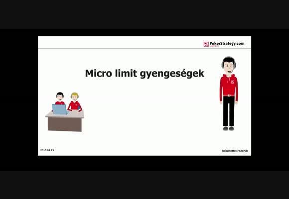 Videóverseny 2015 - Mikrolimit gyengeségek - r4zor9b