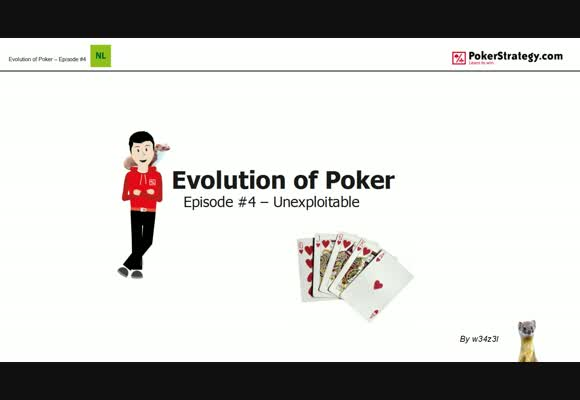The Evolution of Poker - Unexploitable