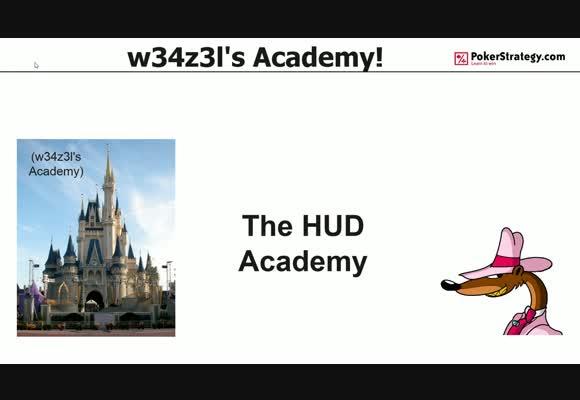 w34z3l's Academy - The HUD