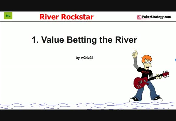 River Rockstar - Value Betting the River (1)