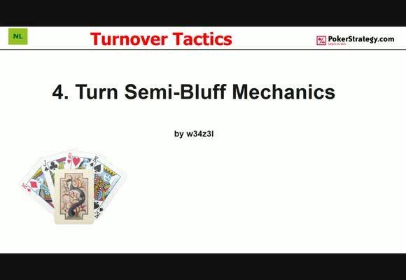 Turnover Tactics - Semi-Bluff Mechanics (4)