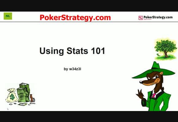 Using Statistics 101 with w34z3l