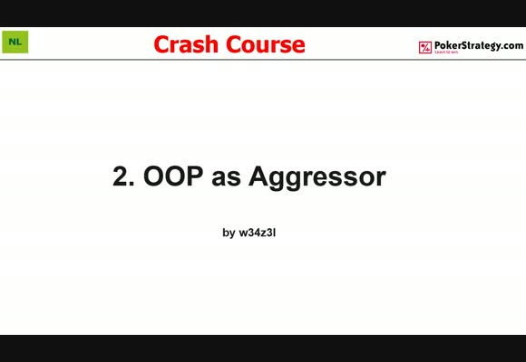 Crash Course - Playing Out Of Position As Aggressor (2)