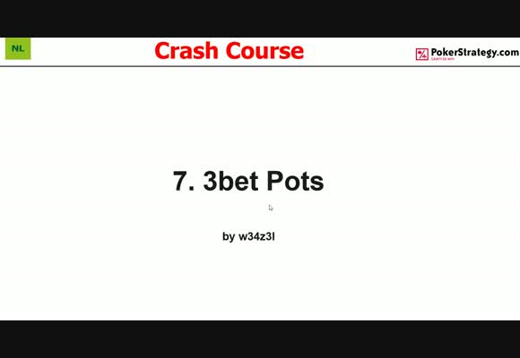 Crash Course - 3-Bet Pots (7)