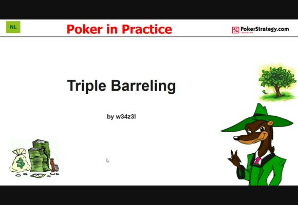 Poker in Practice - Triple Barreling (5)