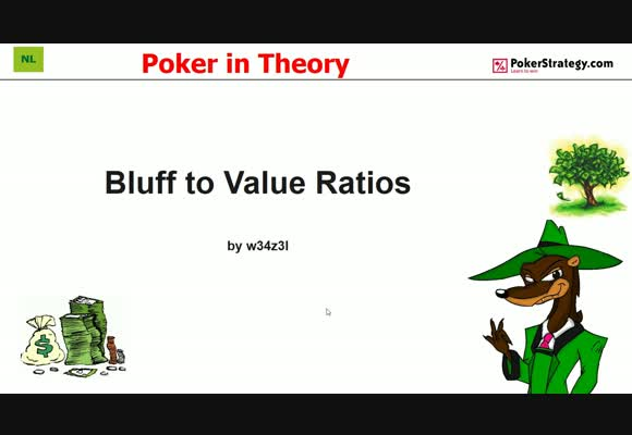 Poker in Theory - Bluff to Value Ratios (3)