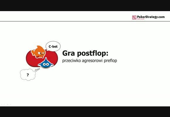 Gra postflop: przeciwko agresorowi preflop