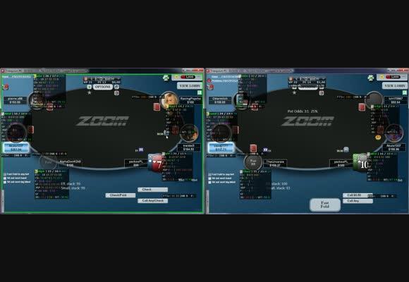 yac odwiedza NL100 Zoom Poker