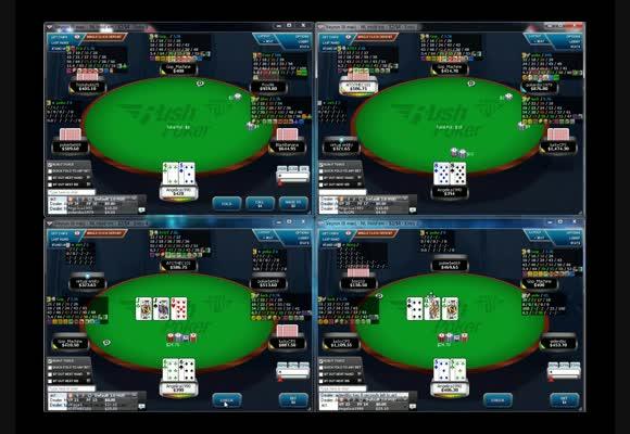 NL400 Rush Poker na FullTilt