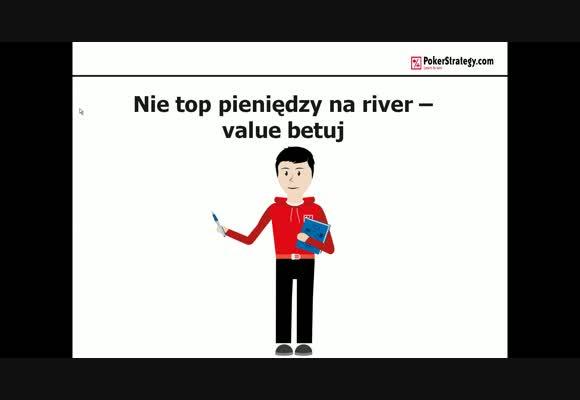 Nie top pieniędzy na river - valuebetuj!