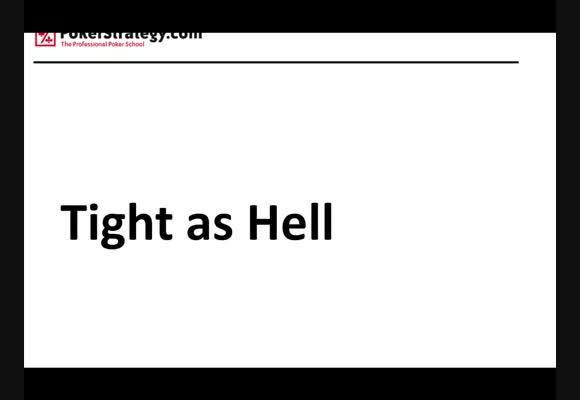 NL50小筹码(SSS)满员桌现场评论视频之Tight as HellⅡ (译制)